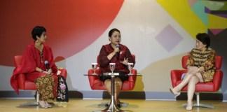 Bupati Tabanan, Ni Putu Eka Wiryastuti mendapat kehormatan menjadi pembicara di acara Kartini 4.0 Indosat Ooredoo di Gedung Indosat Ooredoo, Jakarta Pusat