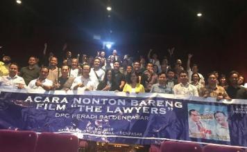 Nonton Bareng Film 'The Lawyers' Angkat Kisah Unik Profesi Pengacara