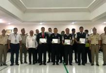 Pemberian apresiasi kepada petugas Avsec di ruang serba guna Bandara I Gusti Ngurah Rai