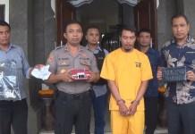 Residivis Pencurian Rumah Kosong Gusti Putu Wardika (43) kembali diamankan oleh Unit Polsek Kota Negara