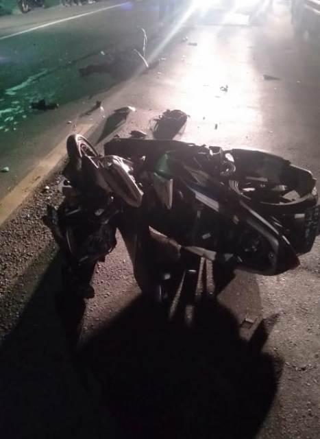 Motor Tabrak Pick Up Di Samsam Pengendara Motor Luka Parah Media Pelangi
