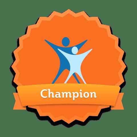 healthy living pharmacy champion