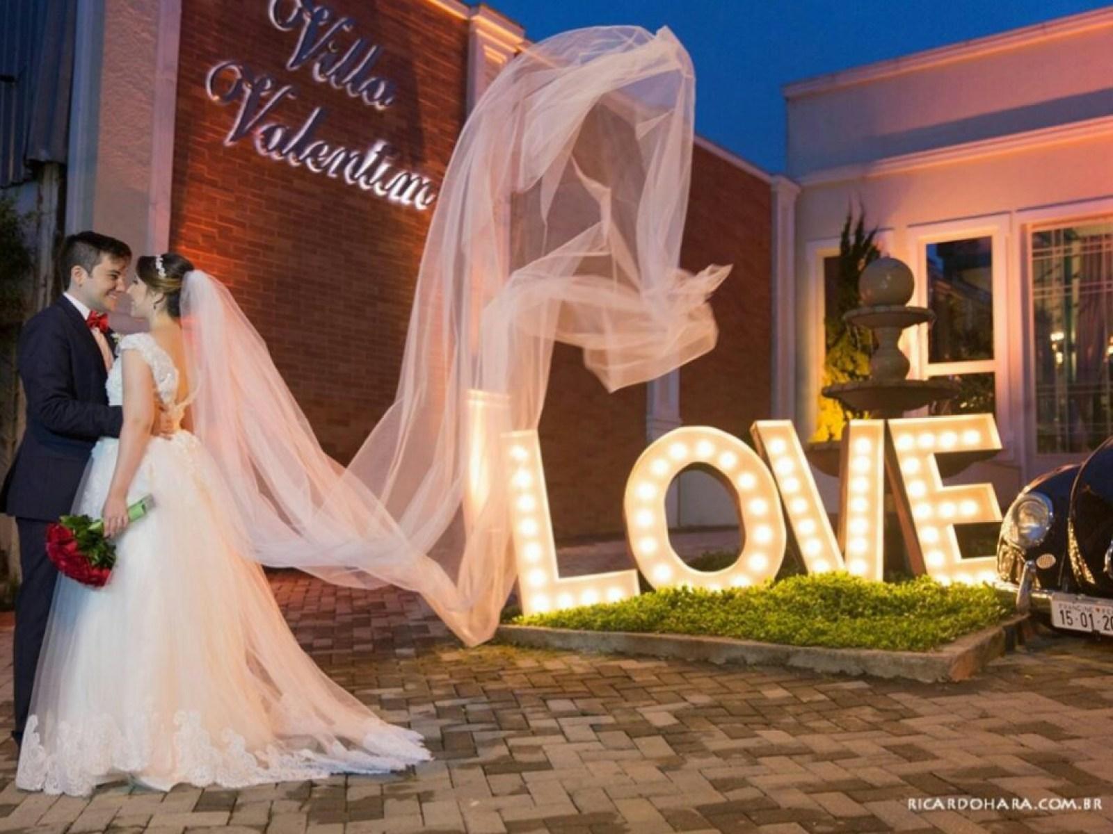 Foto de lembrança para Casamento