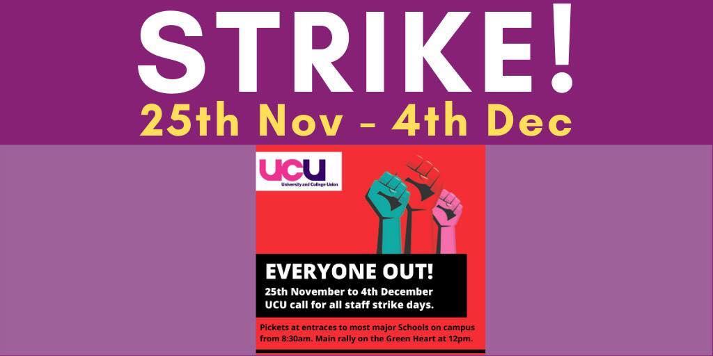 Solidarity with UCU Strike