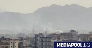 Ракетен взрив в Кабул