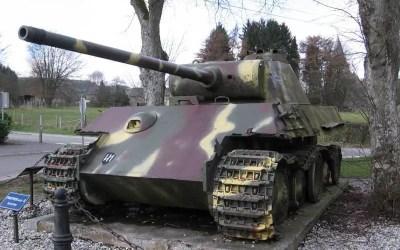Le Panther B de Grandmenil (Manhay)