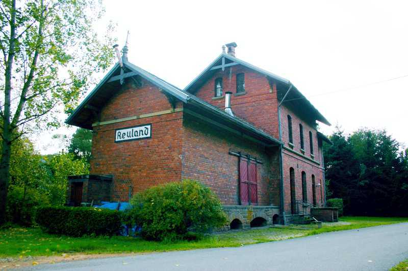 La gare de Reuland, un patrimoine préservé