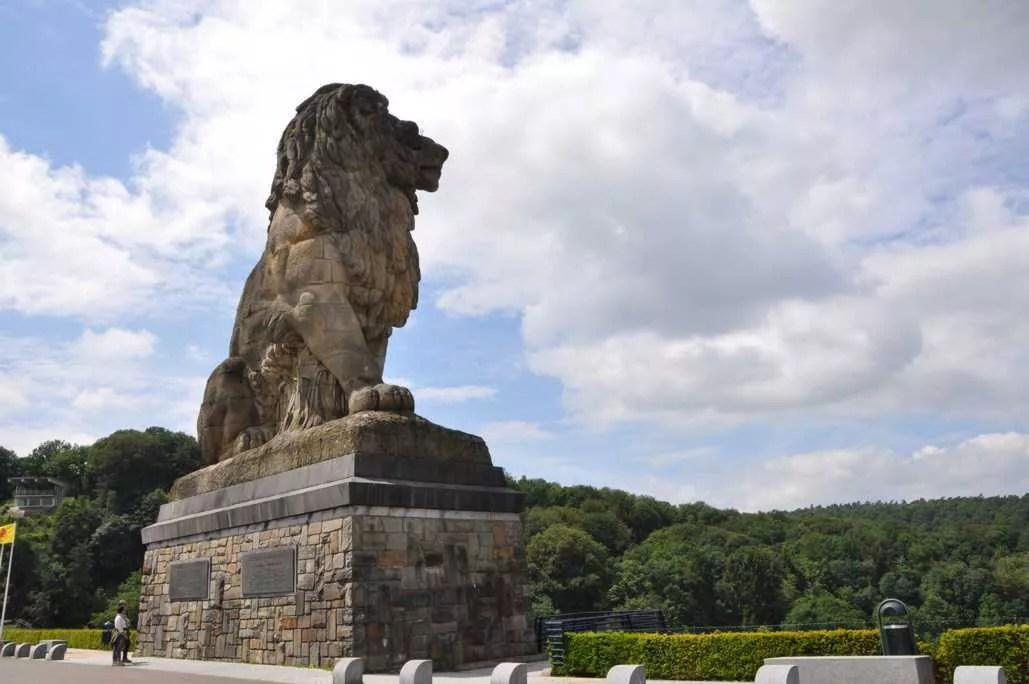 Le lion de La Gileppe