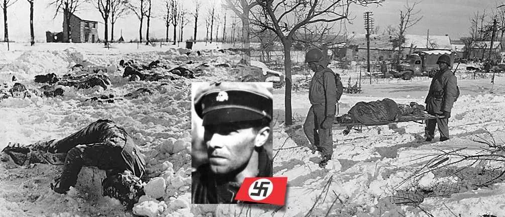 Décembre 1944, le massacre de Baugnez à Malmedy