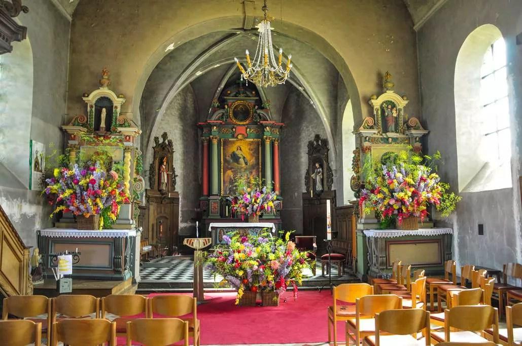 Eglise Saint-Martin fleurie