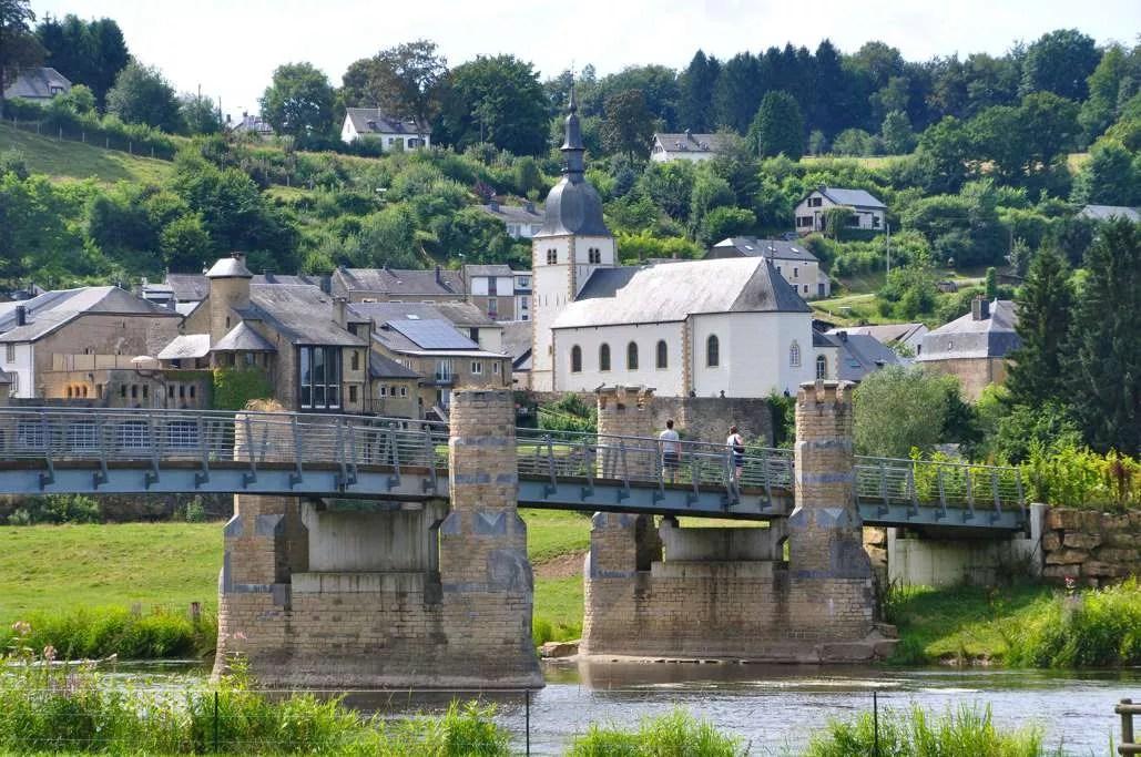 passerelle du Breux