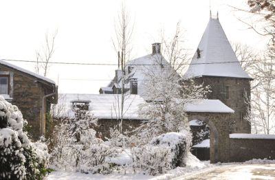 Haute-Bodeux | Le porche du château
