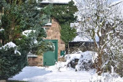 Haute-Bodeux, la maison verte.