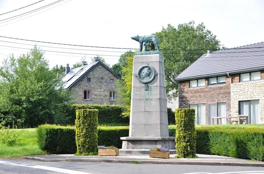Le monument Nicolas Pietkin à Sourbrodt