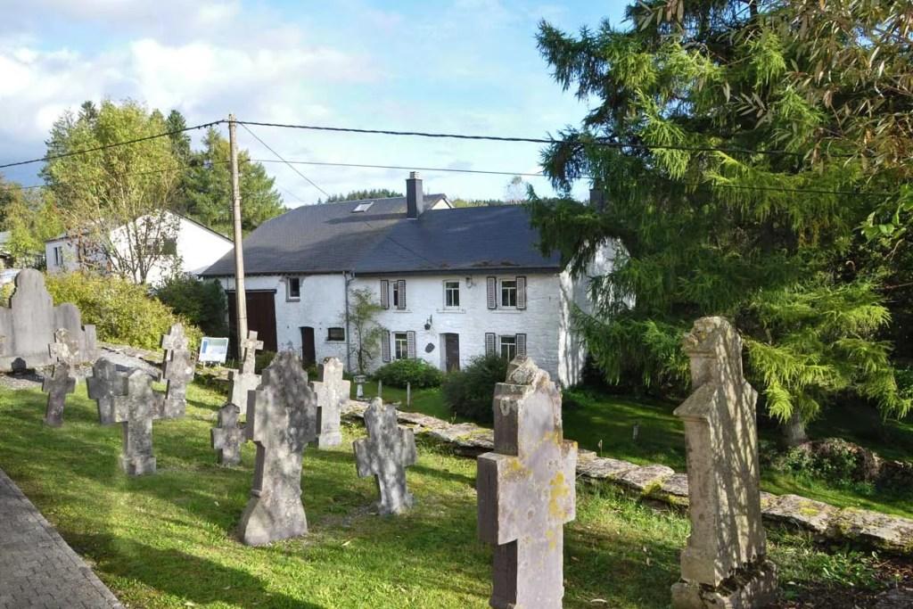 Le vieux cimetière de Wathermal
