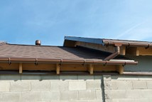 House Gutters with Roof Designs