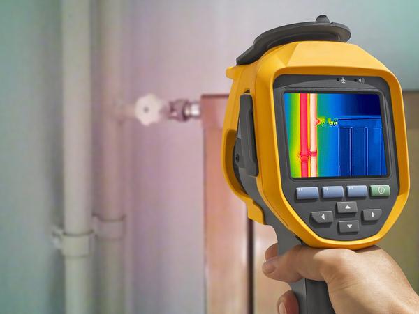 Thermal imaging handheld device