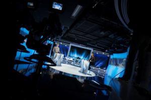 Coulisses studio Newsroom