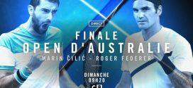 Open d'Australie : la finale Federer-Cilic en clair sur C8
