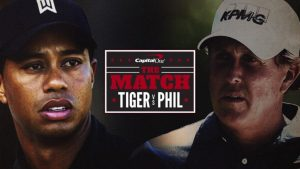 The Match Tiger Woods Phil Mickelson
