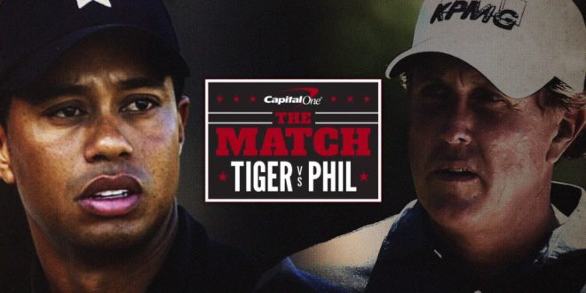 Droits TV : Molotov diffuse en exclusivité ce soir le face à face entre Tiger Woods et Phil Mickelson en pay per view