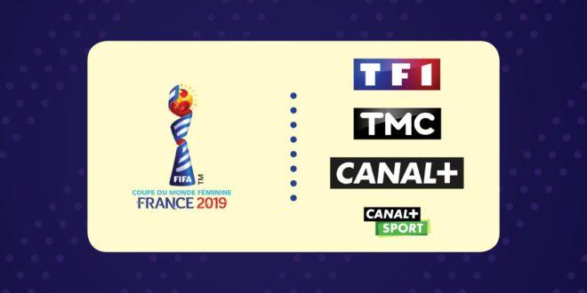 Coupe du Monde Féminine 2019 : le Programme TV de la compétition sur TF1, TMC et Canal+