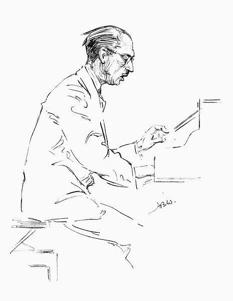 IGOR STRAVINSKY (1882-1971). American (Russian-born