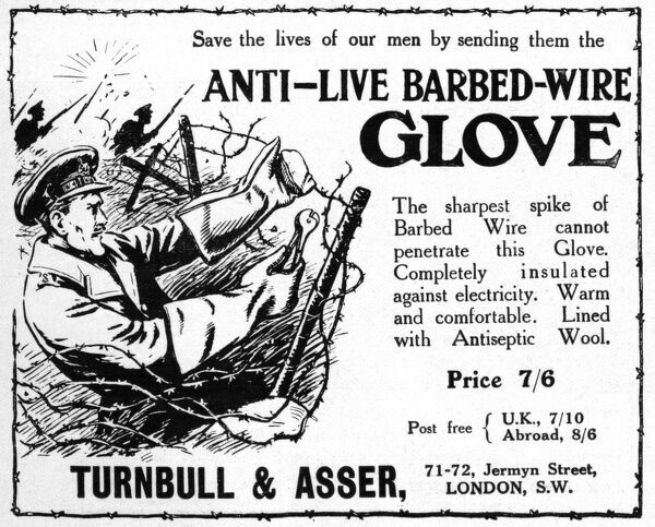 Anti-Live Barbed Wire advertisement (#14139526) Jigsaw Puzzle
