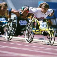 Wheelchair Olympics Chair Rentals South Jersey 1992 Barcelona Racing Athletics