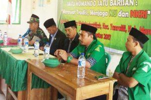 Peserta Diklat Terpadu GP Ansor, Dibekali Materi Bela Negara