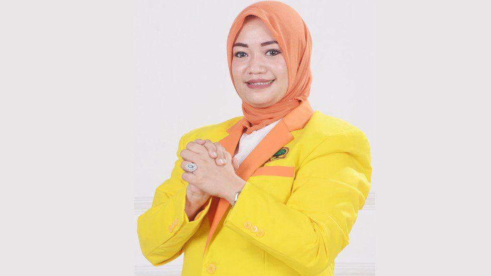 Ayu, Bacaleg Partai Berkarya Gowa Mantapkan Relawan Menangkan IYL-Cakka