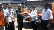 BPBD Makassar Serahkan Bantuan ke Korban Kebakaran di Biring Romang