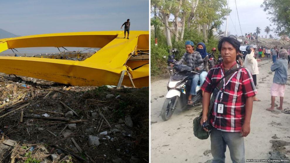 Gempa Palu: Kisah Pilu Pencari Berita yang Sempat Kehilangan Kabar Orang Tua