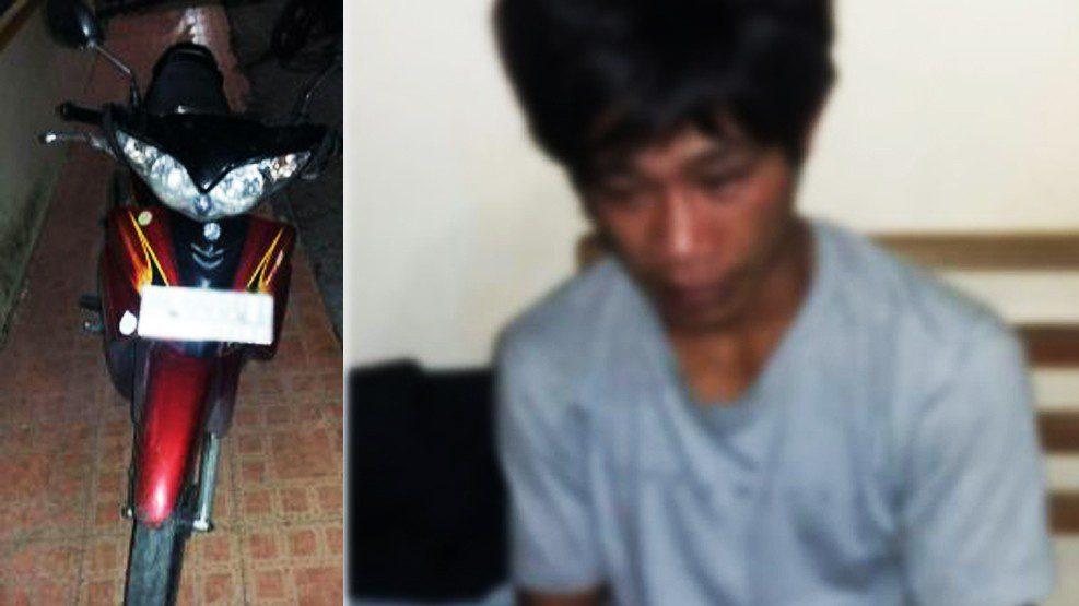 Pelaku Curanmor di Depan UPRI Makassar Ditangkap Polisi