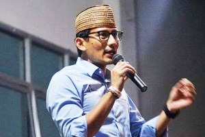 "Sandiaga Uno Enggan Merespons Pernyataan Jokowi Soal Politikus ""Sontoloyo"""