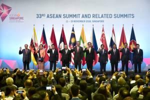 Presiden Jokowi Hadiri Pembukaan KTT ke-33 ASEAN