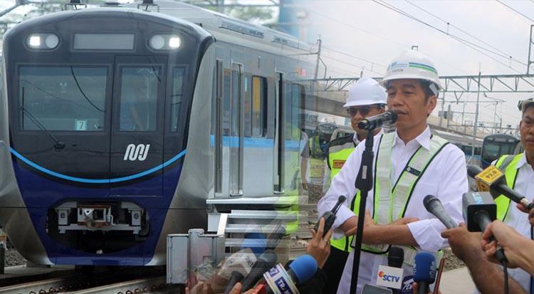 Jokowi: MRT akan Dibangun di Kota-kota Besar di Indonesia