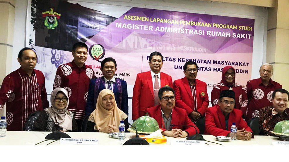 LAM PTKes Lakukan Visitasi Program S2 MARS FKM Unhas