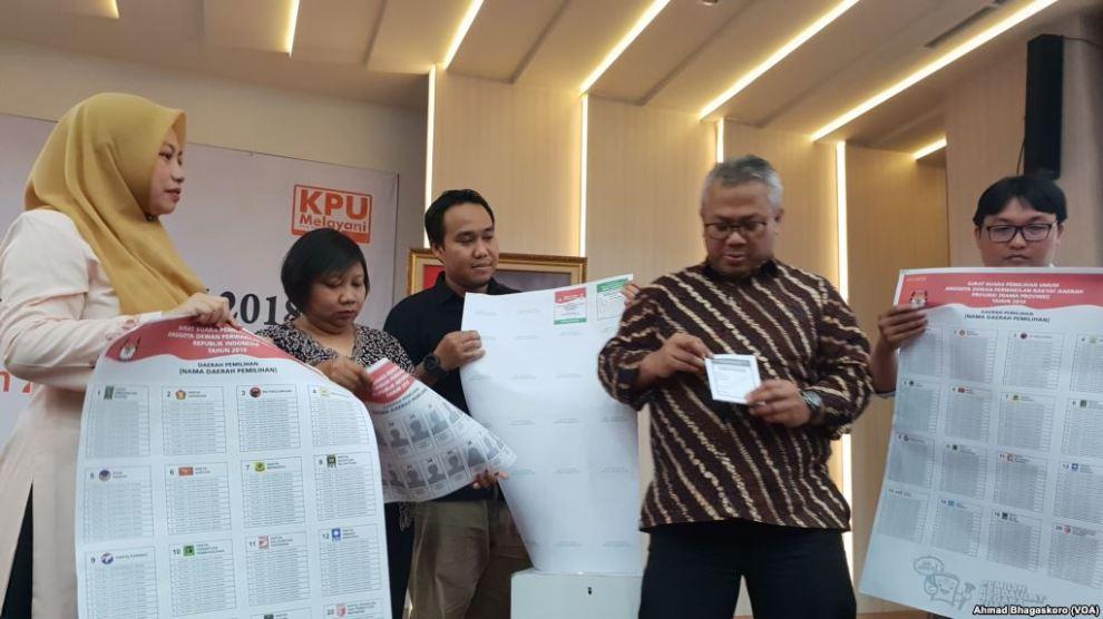 Ketua KPU: Kesiapan Pemilu 2019 Sudah Mencapai 90 Persen
