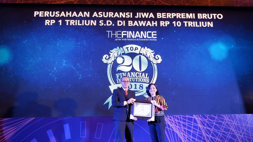 Sequis Life Raih Penghargaan Top 20 Financial Institutions 2018