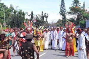 Presiden Jokowi Hadiri Festival Lovely December Tana Toraja