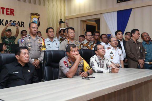 Sistem Smart City Makassar Siap Support Tilang Kamera