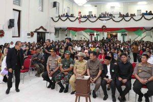 Wali Kota Makassar Bersama Forkopimda Pantau Keliling Perayaan Natal