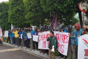 Debat Capres-Cawapres Pertama, Mahasiswa Demo Tuntut Debat di Kampus