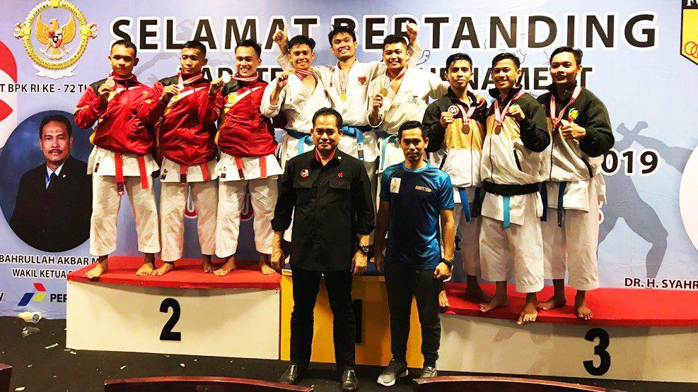 Gojukai Sulsel Raih Juara Umum II Open Tournament BPK Cup I