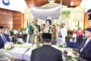Pernikahan Putra Gubernur Sulsel Berlangsung di Jakarta