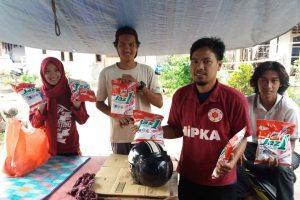 Komunitas Radar Jaya Bantu Korban Banjir Detergen