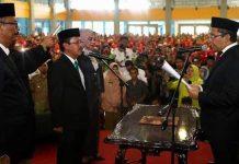 Pelantikan Sekda Defenitif Kota Makassar