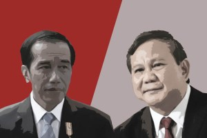 Survei Indikator: Elektabilitas Jokowi Unggul 20 Persen dari Prabowo