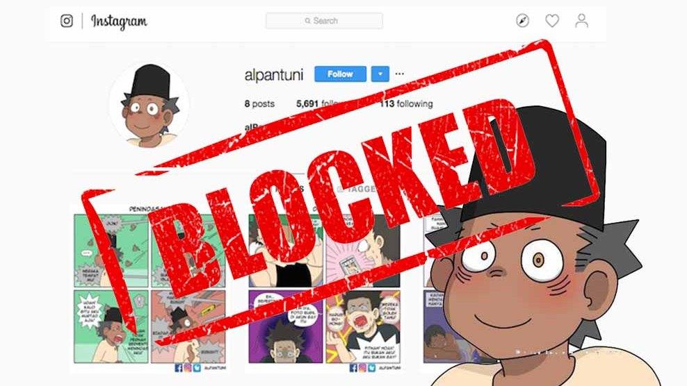 Instagram Tutup Akun Yang Tampilkan Komik Gay Indonesia